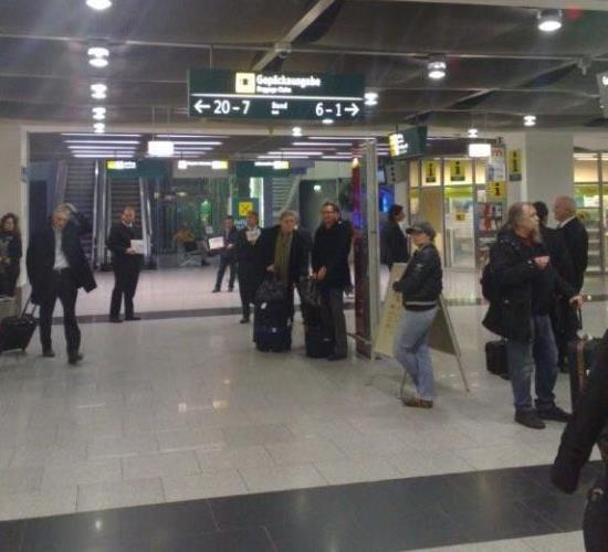 situation düsseldorf flughafen